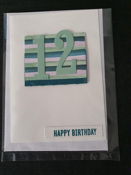 12 Stripey