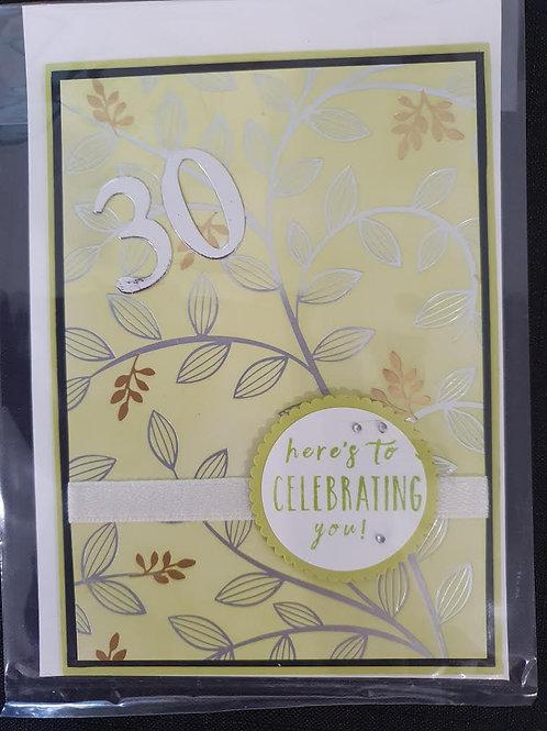30 Lime Leaves Birthday