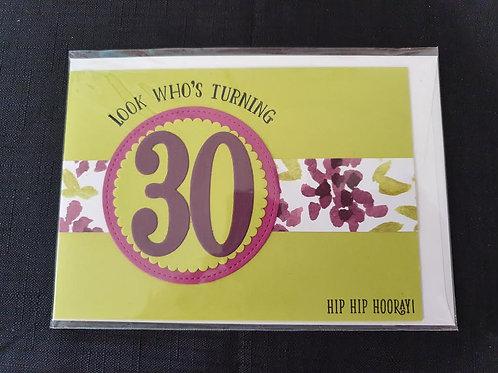 30 Lime Birthday