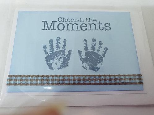 Blue Baby Hands