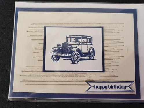 Automobile Birthday
