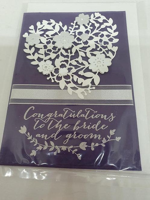 Floral Heart Wedding