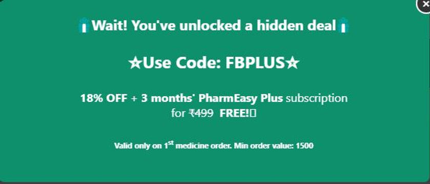 Coupon Code for Pharmeasy
