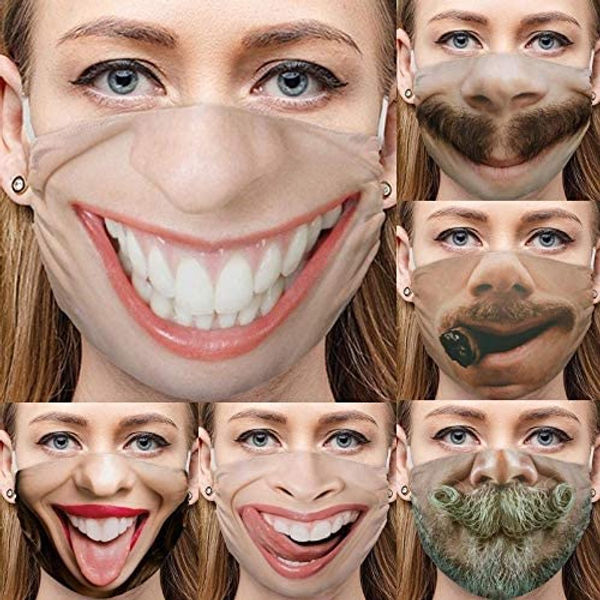 Free Amazon Coupon Code for Funny Print Washable Face Bandana