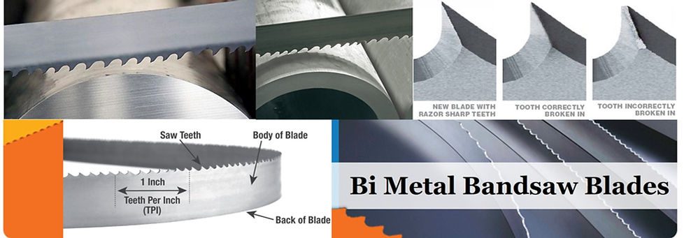 Leading Authorized Dealer of Bimetal Bandsaw Blades for Metal Cutting