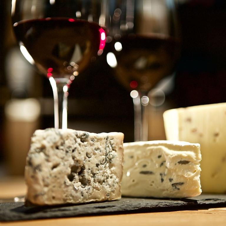 Wein  und Käsetasting