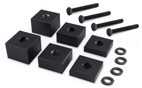 "Ford F150 2015+/F250, F350 F450 2017+ Super Duty 1/2""-2"" Front Seat Spacer Kit"