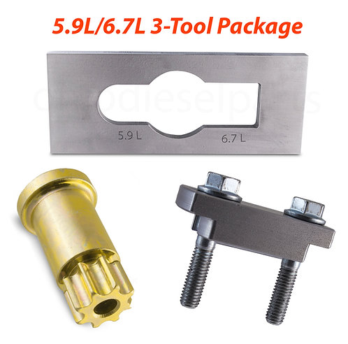 ODP Barring, Pump Gear Puller, Injector Nozzle Removal Tool 5.9/6.7L Cummins