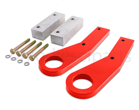 Jeep Grand Cherokee WK2 Tow Hooks Recovery Point Years 2011-2018 (Red)