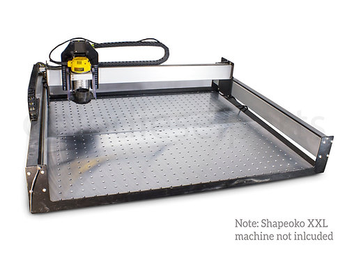 Custom Aluminum Plate Fixture Table Mounting Boards For Shapeoko XXL