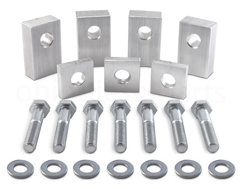 Jeep Wrangler JKU/JL Rear Seat Recline Kit + Bolts and Washers - Aluminum