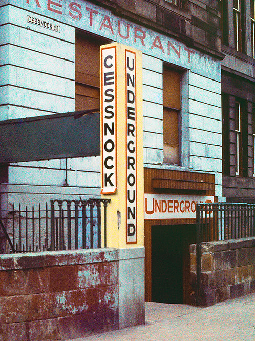 Cessnock Subway station, Glasgow
