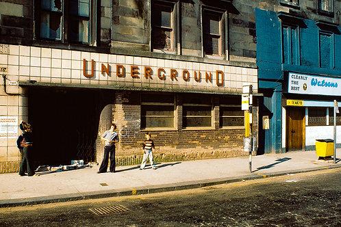 Govan Cross Subway station, Glasgow
