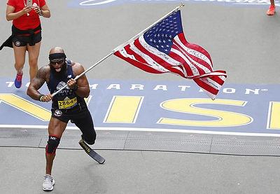 Rise Above Hardship Jose Boston Marathon