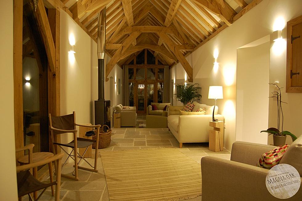 magna oak - Barn conversion, Chew Magna, Somerset.