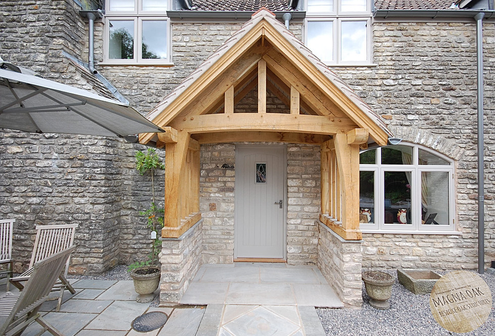 magna oak - Oak framed garden room, Mendip Hills, Somerset.