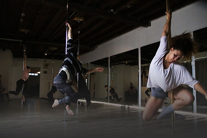 Cours de contemporary pole