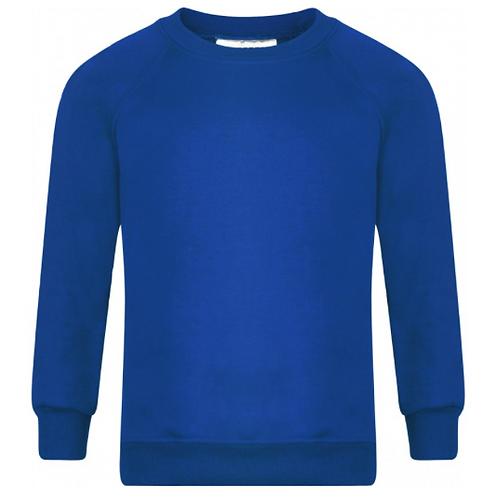 Cossington Royal Blue Sweatshirt with Logo