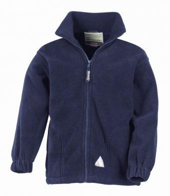 Cossington  Kids Fleece Jacket - Navy