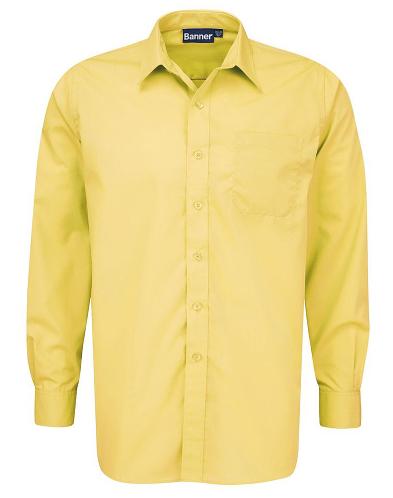 Boys Twin Pack Long Sleeve Gold Shirts