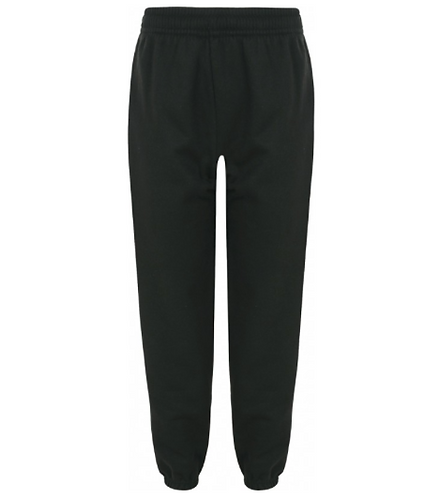 St Francis PE Jogging Bottoms Black with Logo