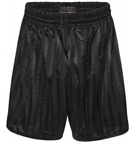 Shadow Stripe Shorts - Black