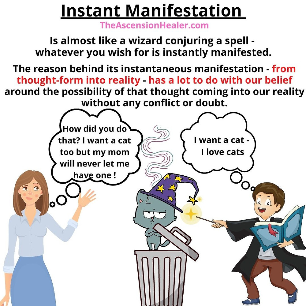 Reason behind instant manifestation