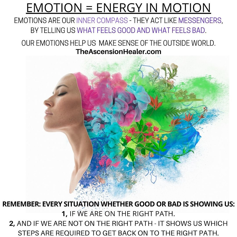 EMOTIONS = ENERGY IN MOTION