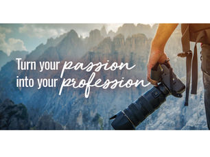 Turn Your Passion Into Your Profession.