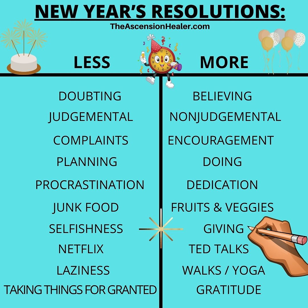 new year's resolutions that inspire