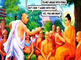 If You Argue with a Fool - that proves there are Two!