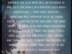 How to Manifest what you want: