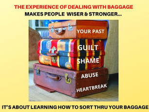 BAGGAGE = BLESSINGS IN DISGUISE
