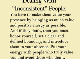 If they can't value your presence- Introduce them to your Absence!