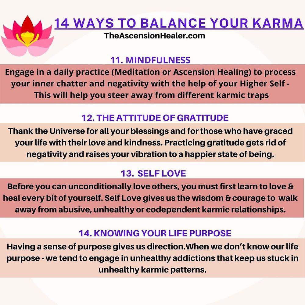 14 ways to balance your Karma - Part 3