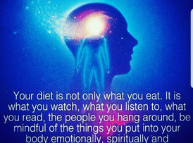 What are you feeding your body, mind and soul?