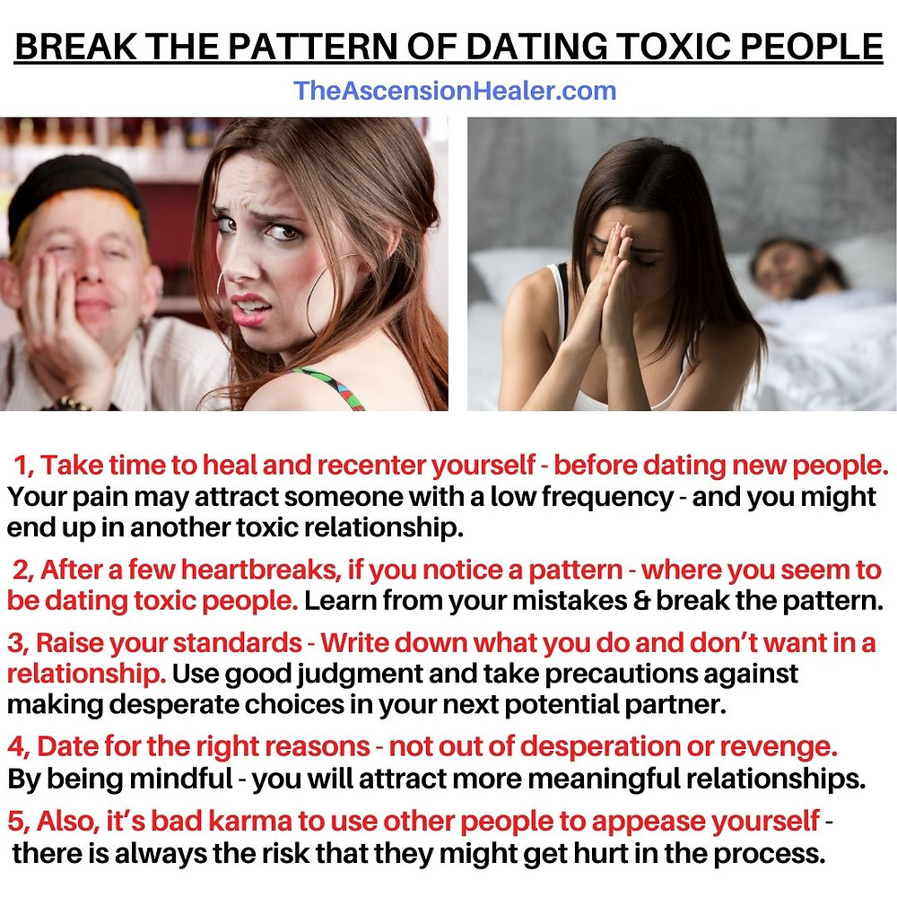 break the pattern of dating toxic people