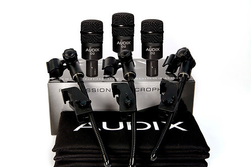 Audix D2 Trio Dynamic Instrument Microphones