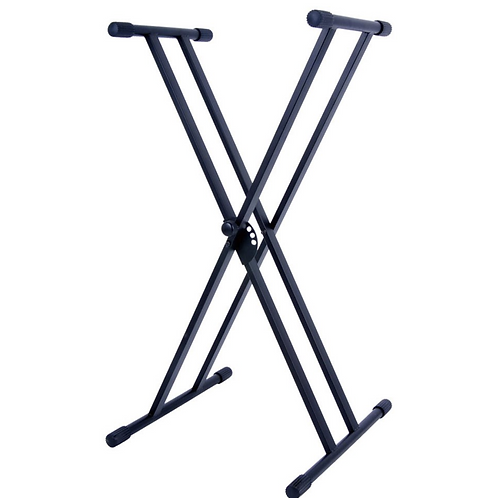 Hamilton Double X Style Keyboard Stand (Bolt On Construction)
