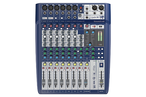 Soundcraft Signature 10 Analogue Mixer