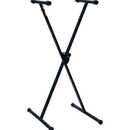 Hamilton Single X Style Keyboard Stand (Bolt On Construction)