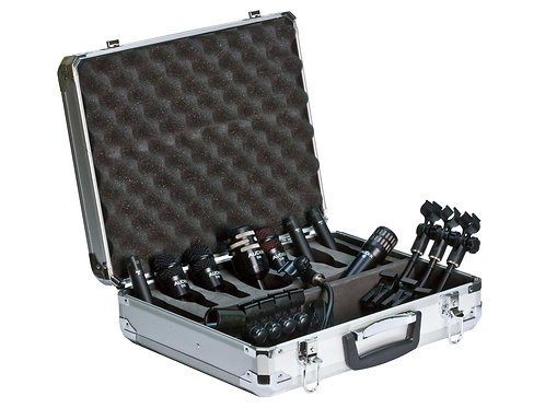 Audix DP Elite 8 Deluxe Drum Microphone Pack
