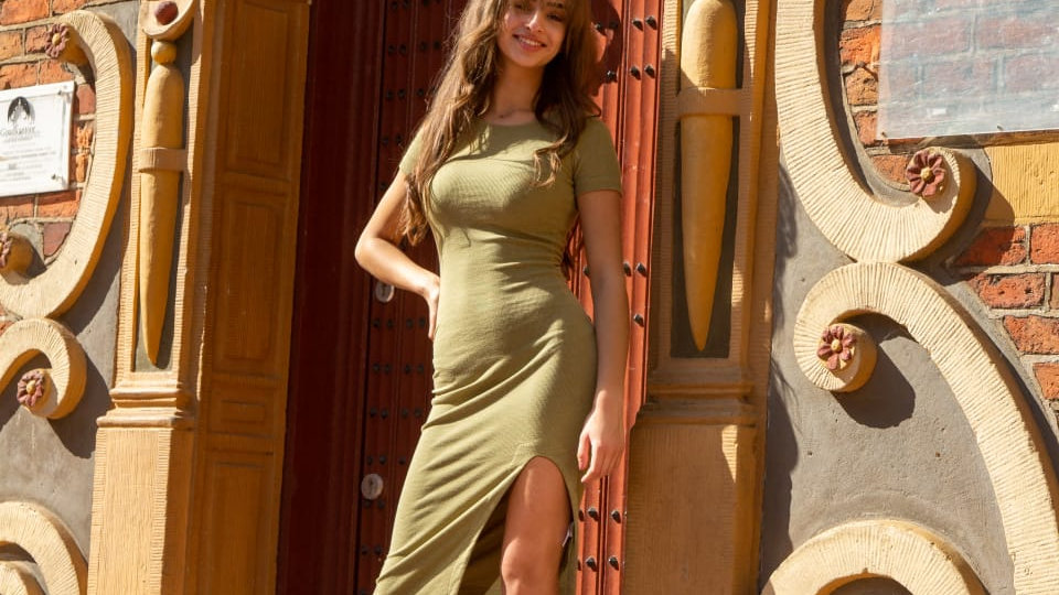 Sandal Nina nude / gemstone