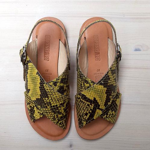 Sandalo Pitone Giallo