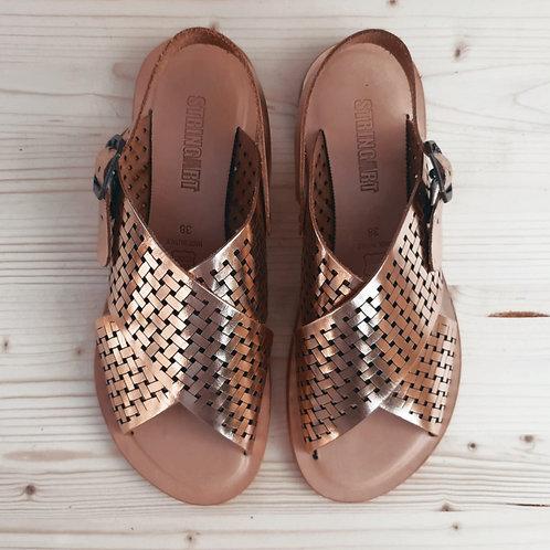Sandalo Traforato Rame