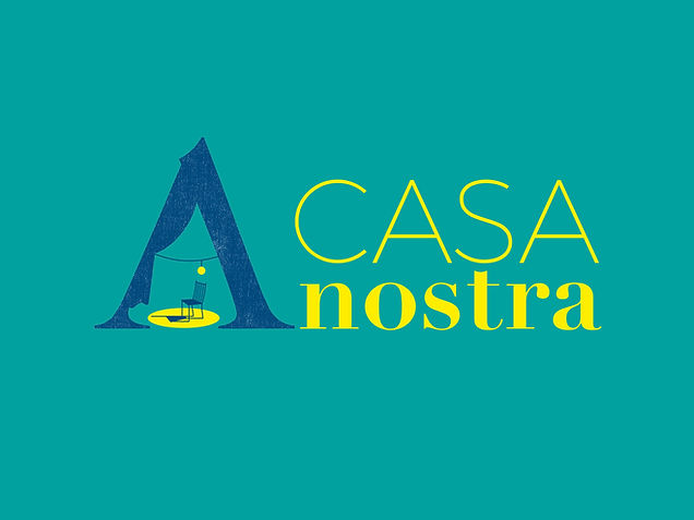 LOGO A CASA NOSTRA- variante orizzontale