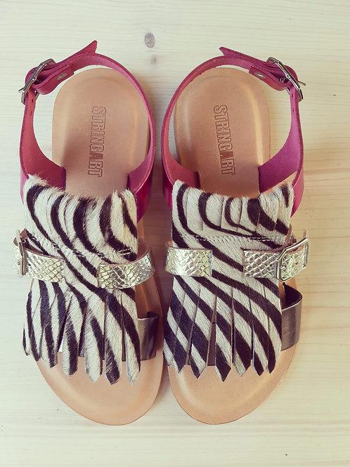 Sandalo Frangia Zebra