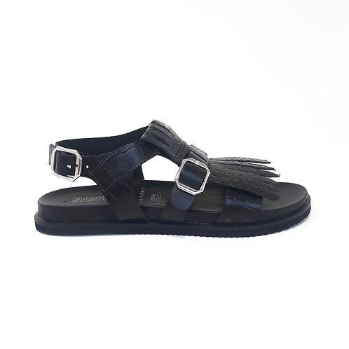 Sandalo Frangia Nero