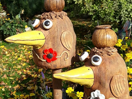 Ptáci na zahradě. :)