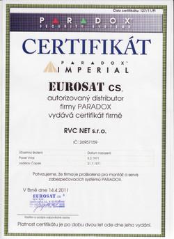 PARADOX instalační firma